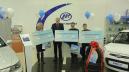Торжественное поздравление победителей в конкурсе «Купи Lifan X60 и получи 500 000 рублей»!